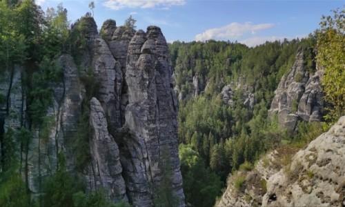 Zdjecie NIEMCY / Saksonia / Bastei / Góry Połabskie