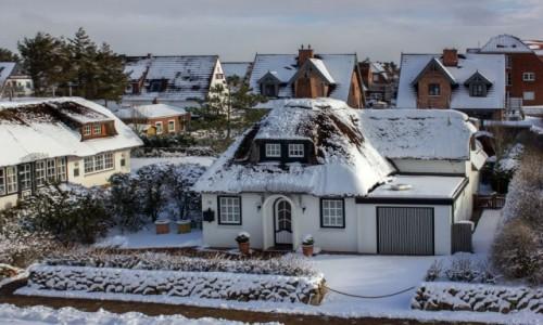 Zdjecie NIEMCY / Sylt / Westerland  / Zima na wyspie