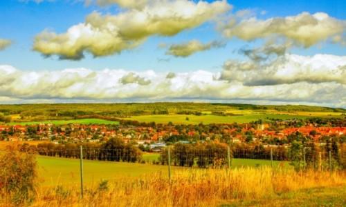 NIEMCY / saksonia / Osterwieck / Panorama