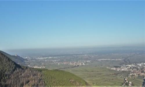 Zdjecie NIEMCY / Nadrenia Pallatynat / Edenkoben / Rietburg, panorama na okolice