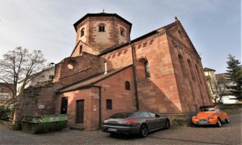 Zdjęcie NIEMCY / Nadrenia Pallatynat / Seebach / Seebach, Klosterkirche St. Laurentius