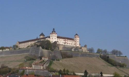Zdjęcie NIEMCY / Frankonia / Wurzburg / Wurzburg, Festung Marienberg