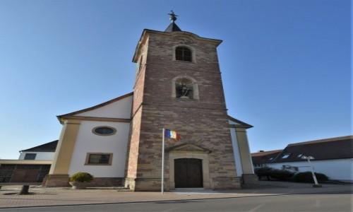Zdjecie NIEMCY / Nadrenia Pallatynat / Romerberg / Romerberg, Kościół St. Sigismund