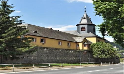 NIEMCY / Dolina Renu / Lorch / Bacharach, Katholische Pfarrkirche St. Nikolaus