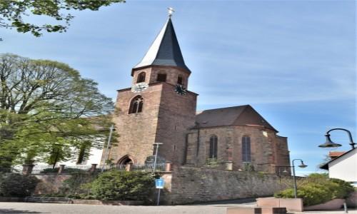 Zdjęcie NIEMCY / Nadrenia Pallatynat / Herxheim / Herxheim, kościół Wniebowzięcia NMP
