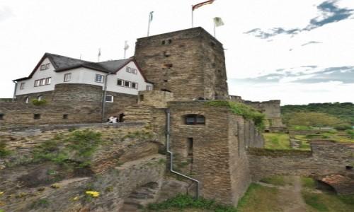 Zdjęcie NIEMCY / Nadrenia Pallatynat / Sankt Goar / Sankt Goar, Burg Rheinfels
