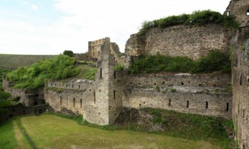 Zdjęcie NIEMCY / Dolina Renu / Sankt Goar / Sankt Goar, Burg Rheinfels
