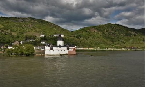 Zdjęcie NIEMCY / Dolina Renu / Kaub / Kaub, zamek celny