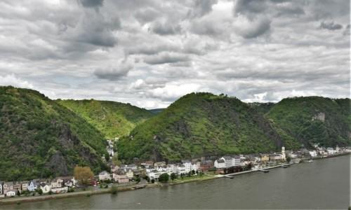 Zdjęcie NIEMCY / Dolina Renu / Sankt Goarshausen / Dolina Renu, panorama