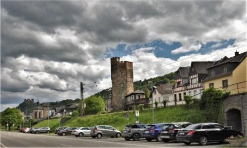 Zdjecie NIEMCY / Nadrenia Pallatynat / Oberwesel / Oberwesel, widok z trasy