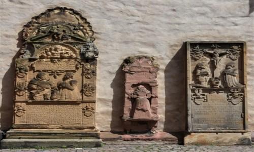 Zdjęcie NIEMCY / Nadrenia-Palatynat / Deidesheim / Deidesheim, kościół, epitafia