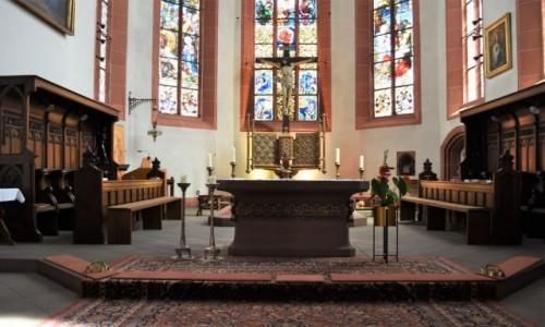 Zdjęcie NIEMCY / Nadrenia-Palatynat / Deidesheim / Deidesheim, prezbiterium