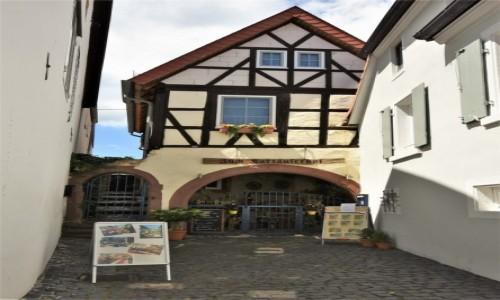 Zdjęcie NIEMCY / Nadrenia Palatynat / Forst an der Weinstrasse / Forst an der Weinstrasse, zakamarki