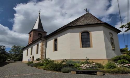 NIEMCY / Nadrenia Palatynat / Forst an der Weinstrasse / Forst an der Weinstrasse, kościół parafialny