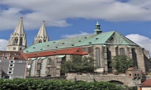 NIEMCY / Saksonia / Gorlitz / Gorlitz, Kościół Ewangelicki św. Piotra i Pawła