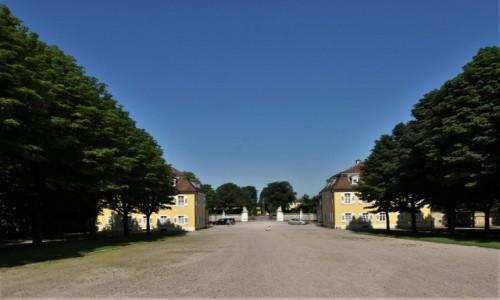 Zdjęcie NIEMCY / Badenia Witenbergia / Bruchsal / Bruchsal, tyły ogrodu pałacowego
