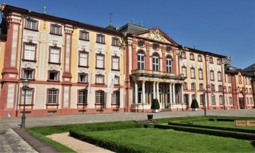 Zdjęcie NIEMCY / Badenia Witenbergia / Bruchsal / Bruchsal, pałac