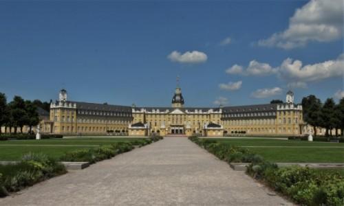 NIEMCY / Badenia Witenbergia / Karlsruhe / Karlsruhe, pałac