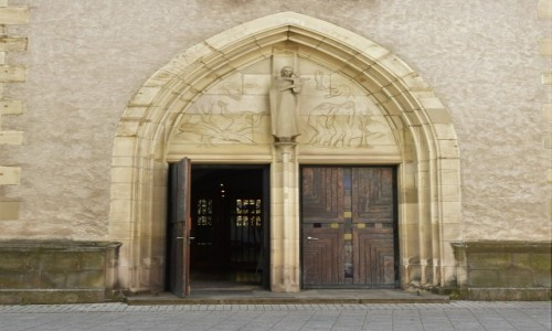 NIEMCY / Badenia Witenbergia / Bruchsal / Bruchsal, Stadtkirche