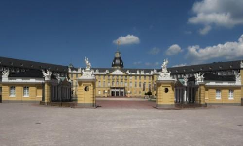 Zdjecie NIEMCY / Badenia Witenbergia / Bruchsal / Karlsruhe, pałac