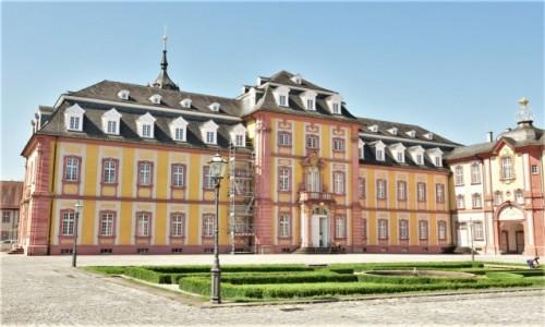 Zdjecie NIEMCY / Badenia Witenbergia / Bruchsal / Bruchsal, pałac