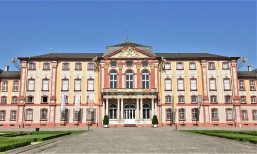 NIEMCY / Badenia Witenbergia / Bruchsal / Bruchsal, pałac