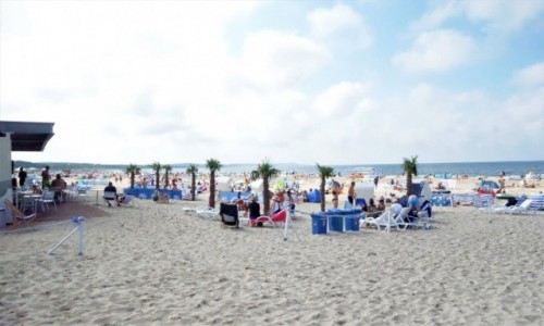 Zdjecie NIEMCY /  Heringsdorf / plaża / plaża w Ahlbeck