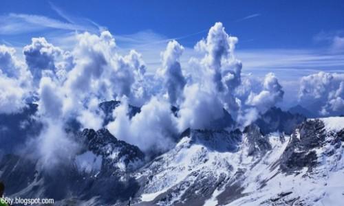 Zdjecie NIEMCY / Alpy Bawarskie / Zugspitze / Widok z Zugspitze