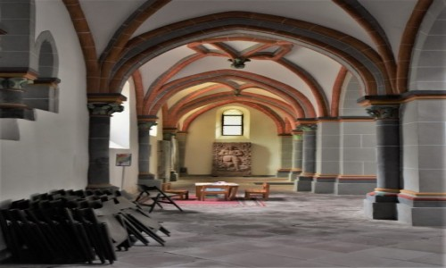 Zdjecie NIEMCY / Dolina Renu / Bacharach / Bacharach, kościół św. Piotra