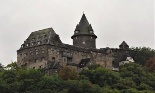 Zdjecie NIEMCY / Nadrenia-Palatynat / Bacharach / Bacharach, zamek