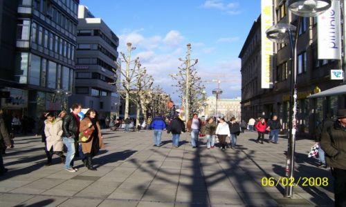 Zdjecie NIEMCY / Baden-Wüntenberg / Stuttgart  / Stuttgart  Kenigstrasse