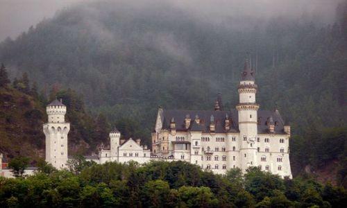 Zdjecie NIEMCY / Bawaria / Hohenschwangau / zamek