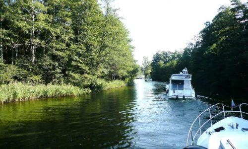 Zdjęcie NIEMCY / Meklemburgia / Kanał Hawela -Muritz / W drodze do Mirow