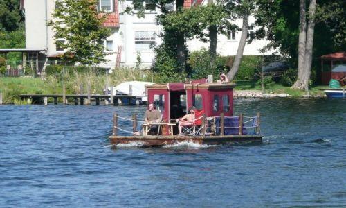 Zdjęcie NIEMCY / Meklemburgia / Gdzieś na kanałach / Zbuduję sobie tratwę ...