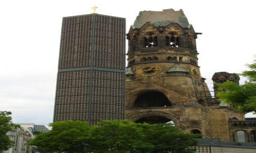 Zdjecie NIEMCY / Berlin / Berlin / dwie wieże