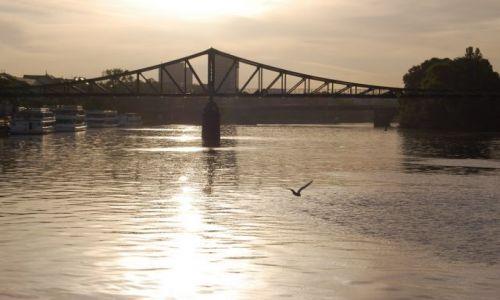 Zdjęcie NIEMCY / Hessen / Frankfurt / Senny poranek we Frankfurcie