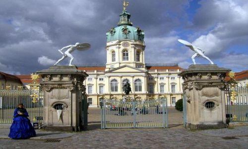 Zdjęcie NIEMCY / Brandenburgia / Berlin / Pałac Charlottenburg