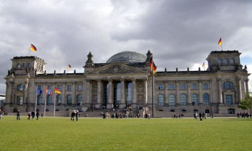 Zdjecie NIEMCY / Brandenburgia / Berlin / Reichstag