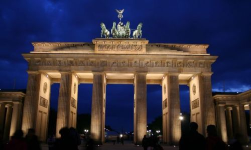 Zdjecie NIEMCY / Brandenburgia, Berlin / Berlin / BB by night