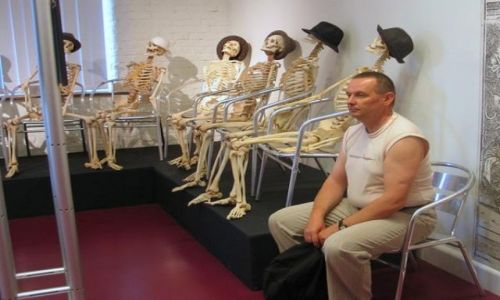 Zdjecie NIEMCY / - / GUBEN / Anatomia człowieka
