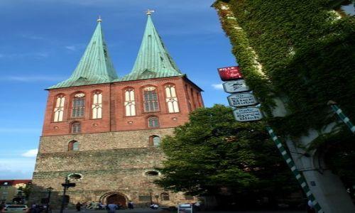 NIEMCY / Brandenburgia / Berlin / Kościół św. Mikołaja