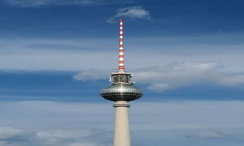 NIEMCY / Brandenburgia / Berlin / Wieża telewizyjna