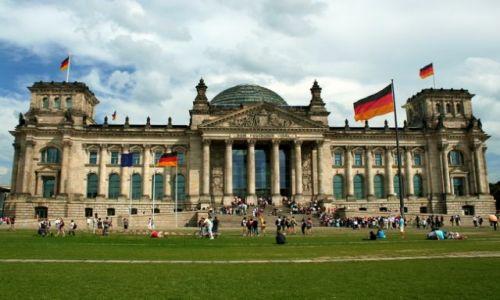 NIEMCY / Brandenburgia / Berlin / Reichstag