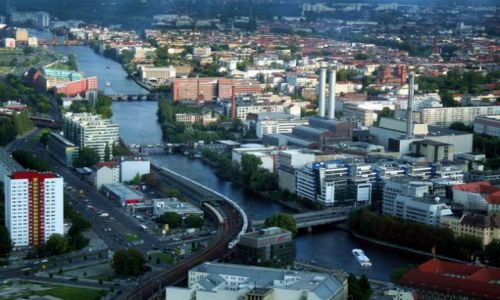 NIEMCY / - / Berlin / Widok na zachodnią część Berlina - dla filneca :)