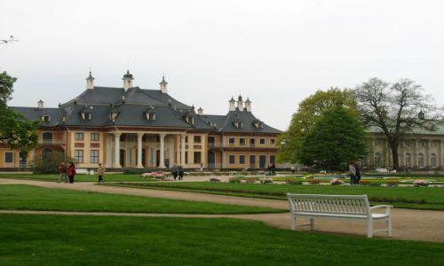 NIEMCY / Saksonia / Pillnitz / pałac w stylu japońskim