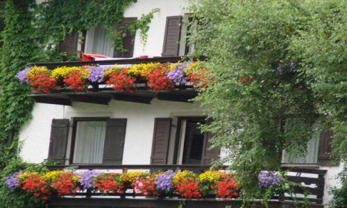 Zdjecie NIEMCY / - / Bawaria / Bawarskie balkony
