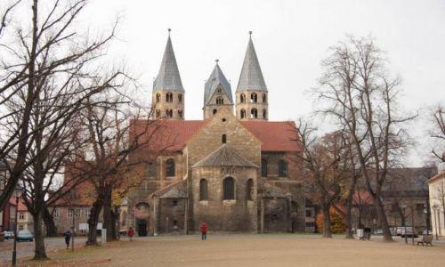 Zdjecie NIEMCY / Saksonia-Anhalt / Halberstadt / Kościół Panny M