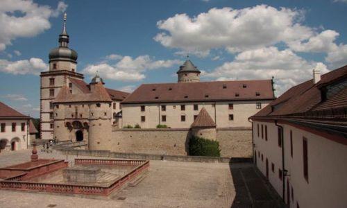 Zdjecie NIEMCY / Frankonia / Würzburg / Festung Marienb