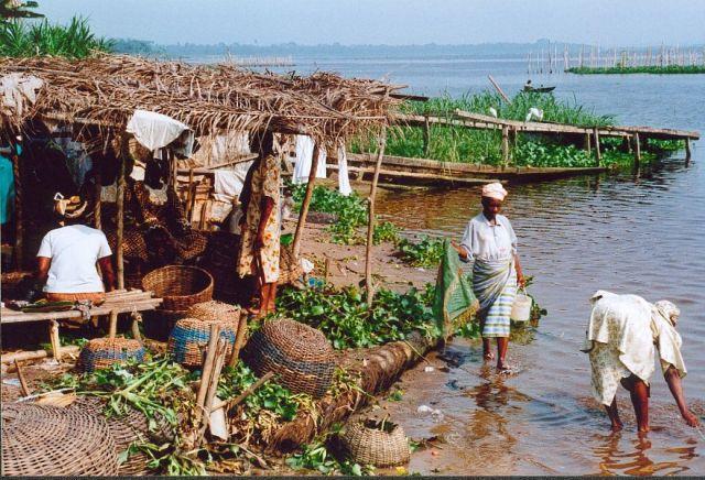 Zdjęcia: Okolice Lagos, Laguna rzeki Niger, NIGERIA