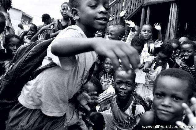 Zdjęcia: slums of Makoko, Lagos, Szkola w slumsie Makoko, Lagos, NIGERIA